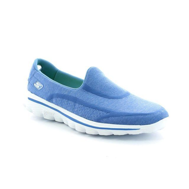 Skechers Super Sock Go 13955 BLU Blue trainers