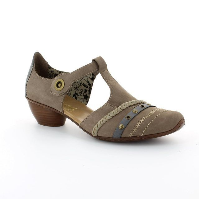 Rieker Everyday Shoes - Taupe multi - 43700-42 MIRTI