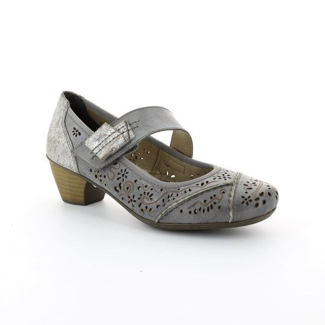 Rieker Everyday Shoes - Light Grey - 41726-40 SINAPLA