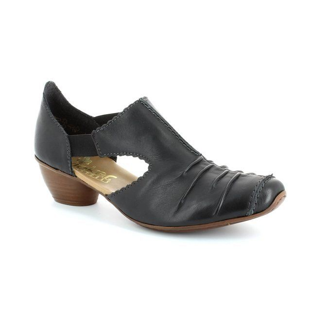 Rieker 43713-00 Black comfort shoes