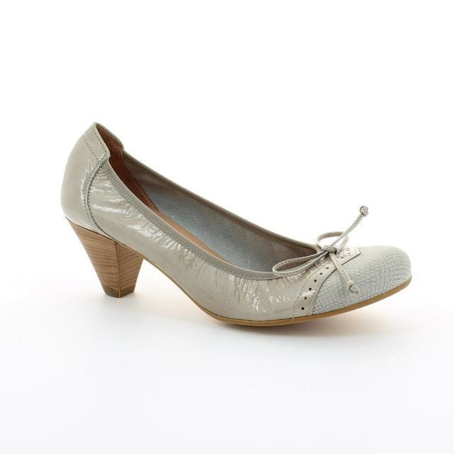 Wonders Heeled Shoes - Beige multi - I8391/50 IGUANA