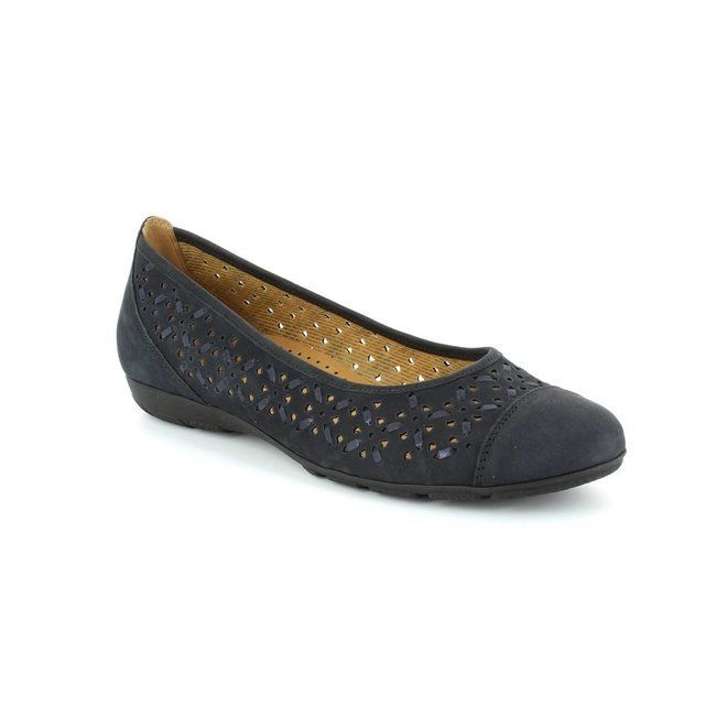 Gabor Florida 24.167.16 Navy nubuck pumps