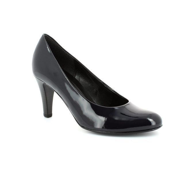 Gabor Heeled Shoes - Navy patent - 35.210.76 OPERATOR