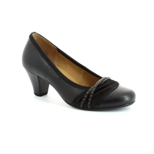 Gabor Gateway 45.481.27 Black heeled shoes