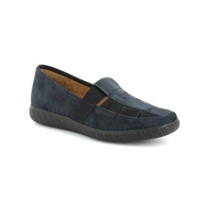 Gabor Everyday Shoes - Navy nubuck - 26.453.46 ARISAIG