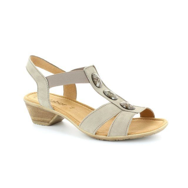 Gabor Sandals - Light Taupe nubuck - 24.542.12 CUMO