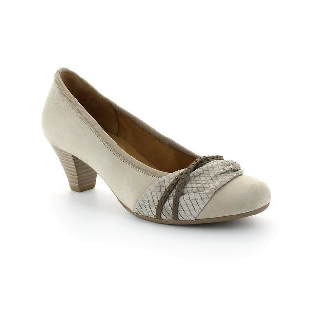 Gabor Gateway 45.481.33 Light taupe multi heeled shoes