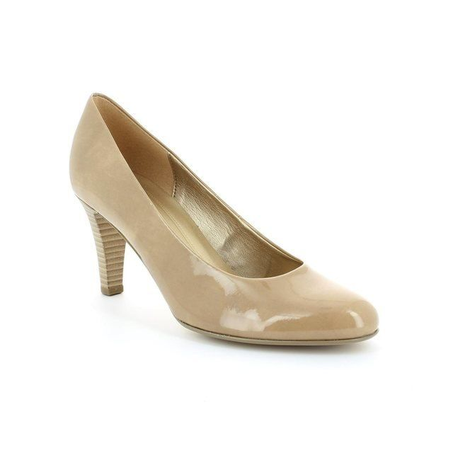 Gabor Heeled Shoes - Nude Patent - 25.210.74 OPERATOR