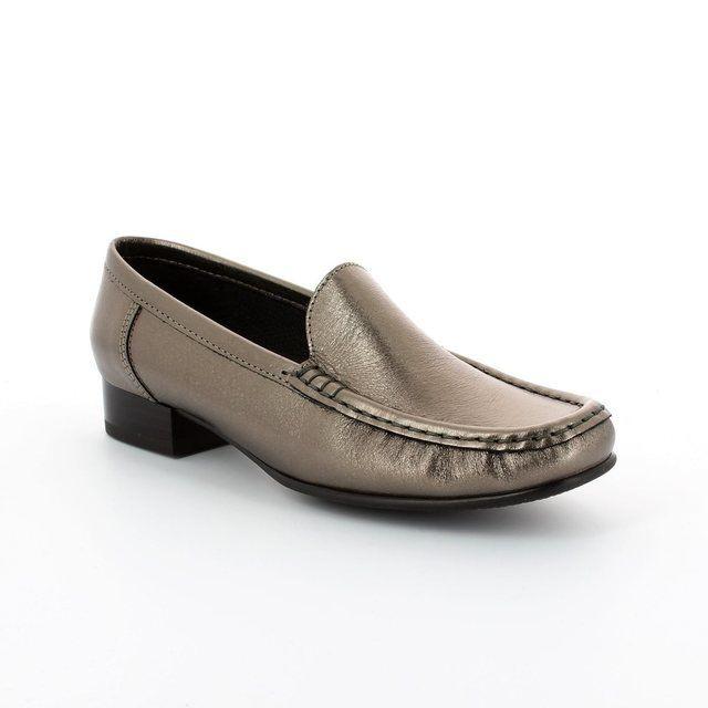 Ara 2250137-12 Pewter comfort shoes