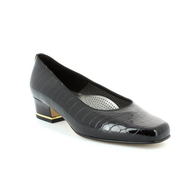 Ara Heeled Shoes - Black croc - 1241859/06 GRACO