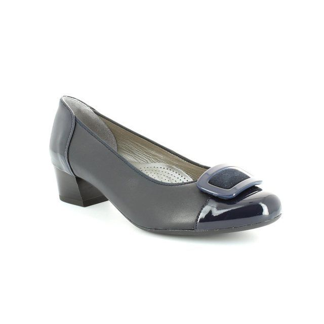 Ara Heeled Shoes - Navy patent - 1235859/02 NIZZAKRA