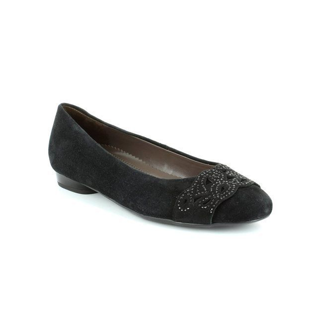 Ara Pisadia 2253303-01 Black suede pumps