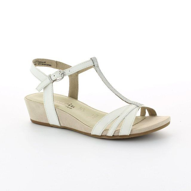 Tamaris Emily 28202-100 White sandals