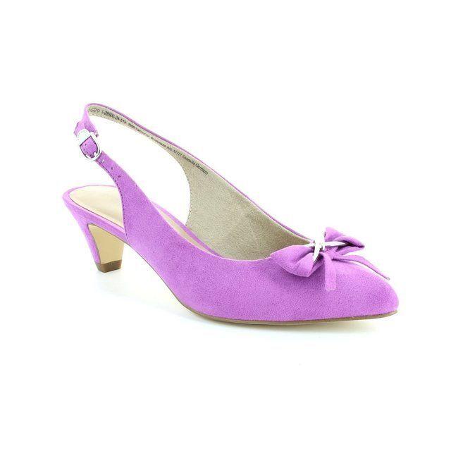 Tamaris Heeled Shoes - Purple - 29500/519 LEXIS
