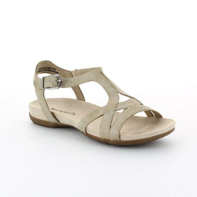 tamaris medi 28120 953 gold high heeled shoes. Black Bedroom Furniture Sets. Home Design Ideas