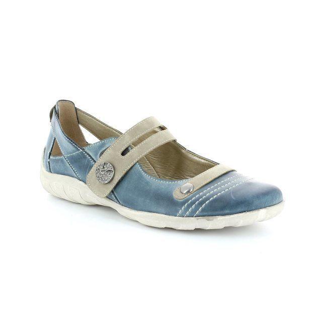 Remonte Dorndorf Livas R3418-14 Denim blue comfort shoe