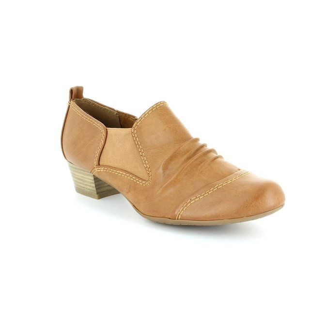 Marco Tozzi Heeled Shoes - Tan - 24304/340 RODRI