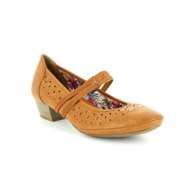 Marco Tozzi Pavo 24503-340 Tan heeled shoes