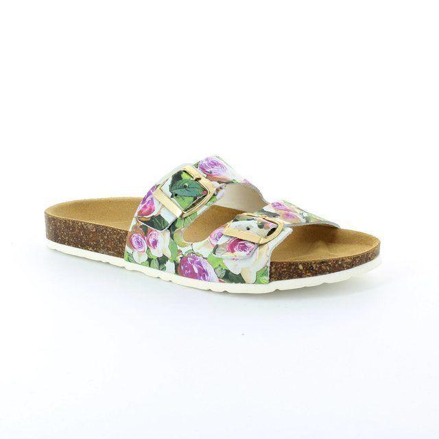 Marco Tozzi Sandals - Floral - 27504/189 BIO