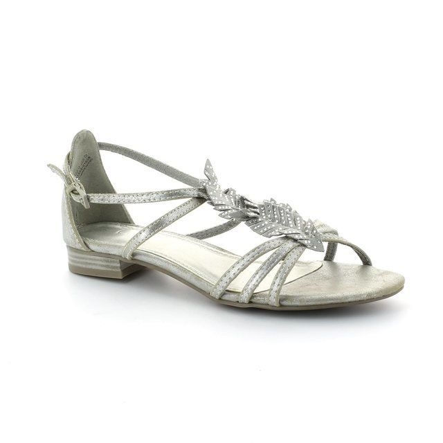 Marco Tozzi Leaf 28100-926 Silver sandals