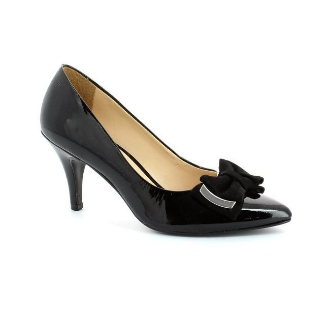 Ambition Jolly 1481-24 Black patent high-heeled shoes