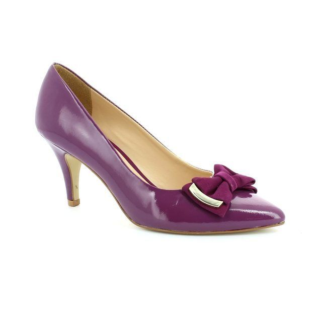 Ambition Jolly 1481-29 Purple high-heeled shoes