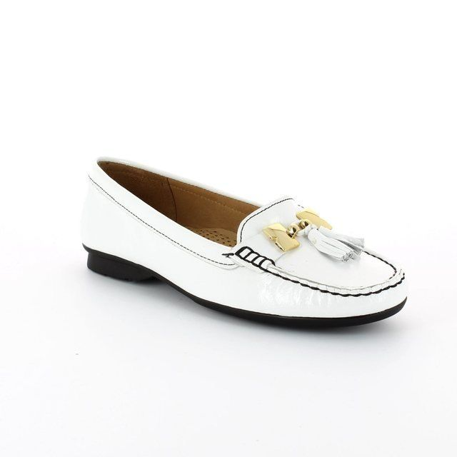 Ambition Misha 1113-26 White patent loafers