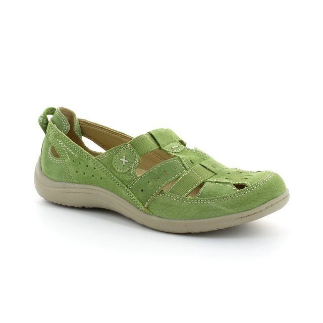 Earth Spirit Long Beach 00195-06 Green comfort shoes
