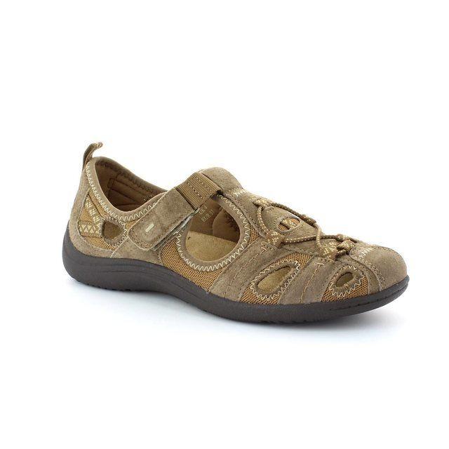 Earth Spirit Wichita 00195-03 Brown lacing shoes