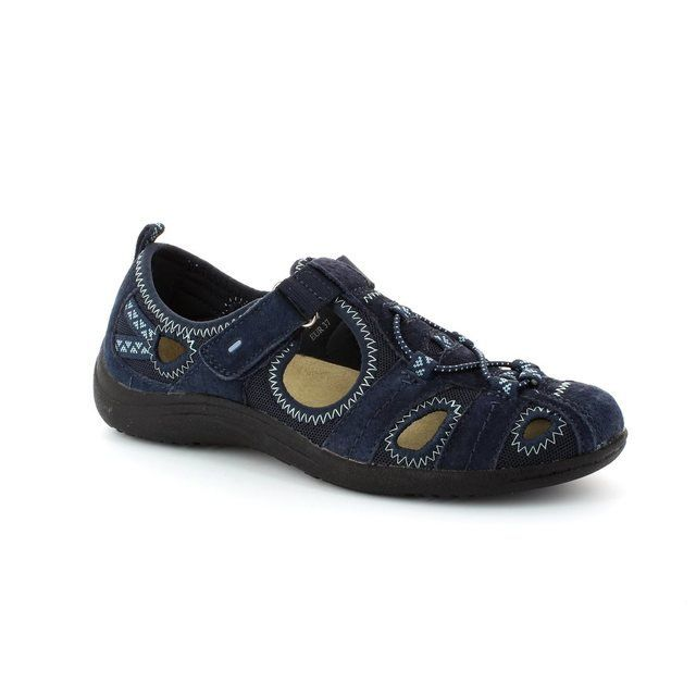 Earth Spirit Wichita 00195-00 Navy lacing shoes