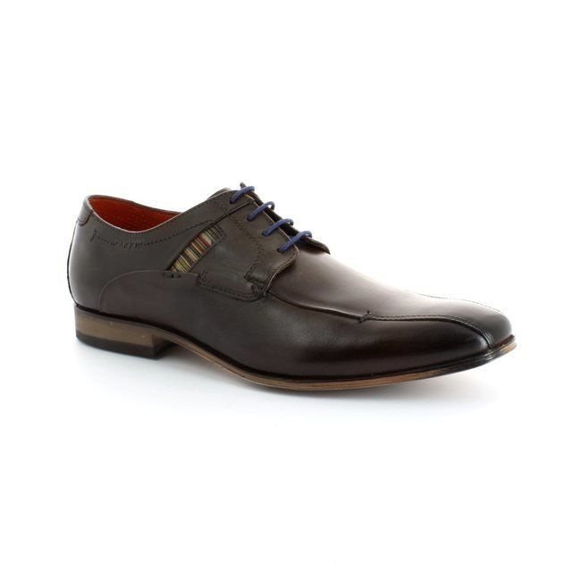 Bugatti Mattia U1815-610 Dark brown formal shoes