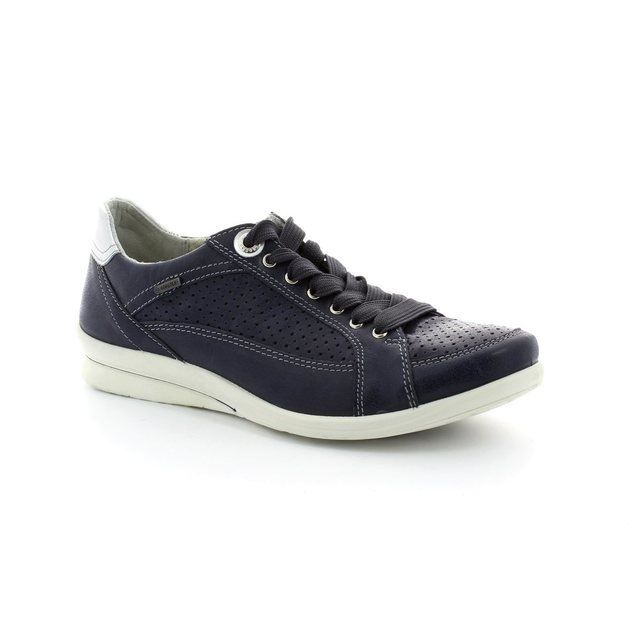 Legero Everyday Shoes - Navy - 00637/86 ALBALACE GORE-TEX SURROUND