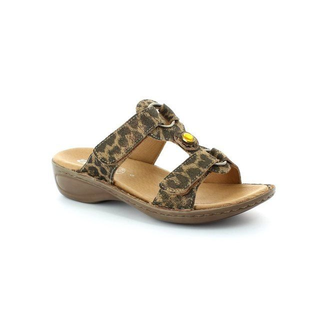 Ara 1227273-07 Leopard print sandals
