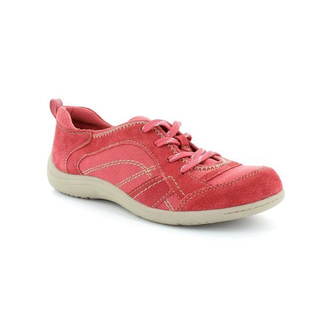 Earth Spirit Everyday Shoes - Red - 00195/22 ATLANTA