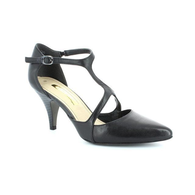 Tamaris Arabell 24434-001 Black high-heeled shoes
