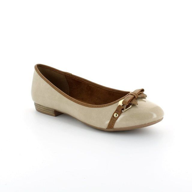 Marco Tozzi Pumps & Ballerinas - Taupe multi patent - 22138/357 LISIT