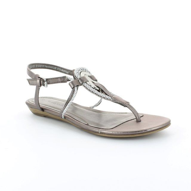 Marco Tozzi Cibo 28109-915 Pewter multi sandals