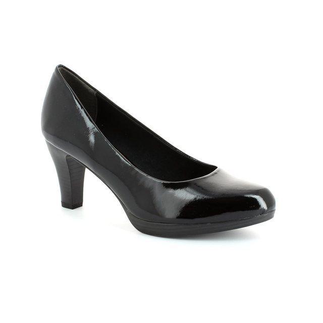 Marco Tozzi Senago 22409-001 Black patent high-heeled s