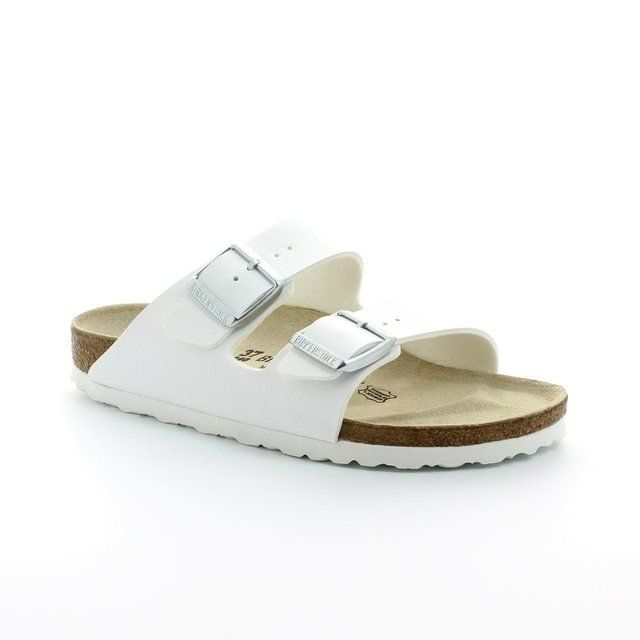 Birkenstock Sandals - White - 051/733 ARIZONA