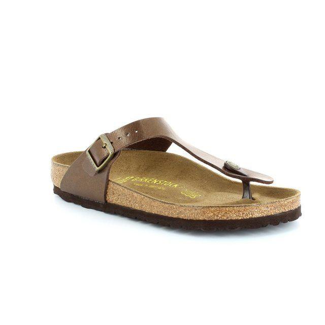 Birkenstock Gizeh 845221 Bronze sandals