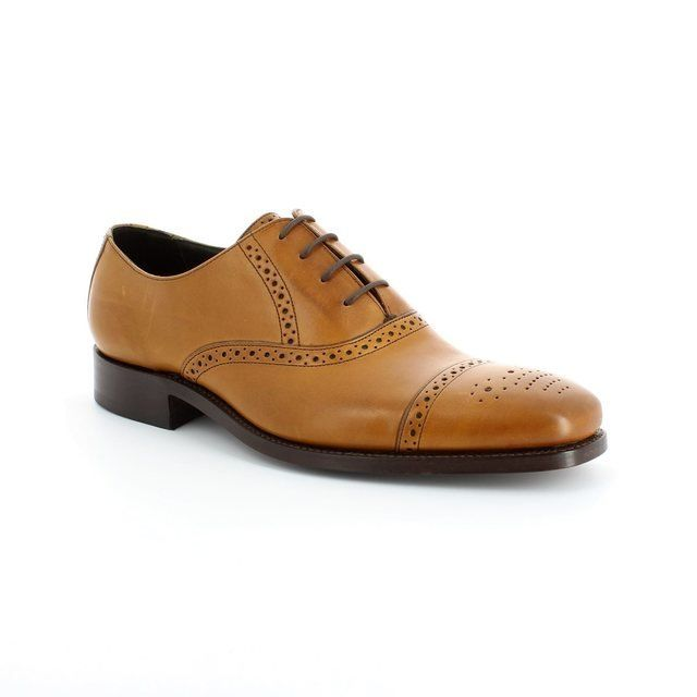 Barker Flynn 1469-27G G Fit Tan formal shoes