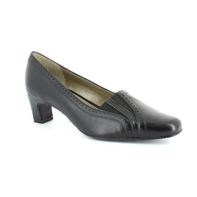 Van Dal Winona Ee Fitt 1600-150F F Fit Black heeled sho