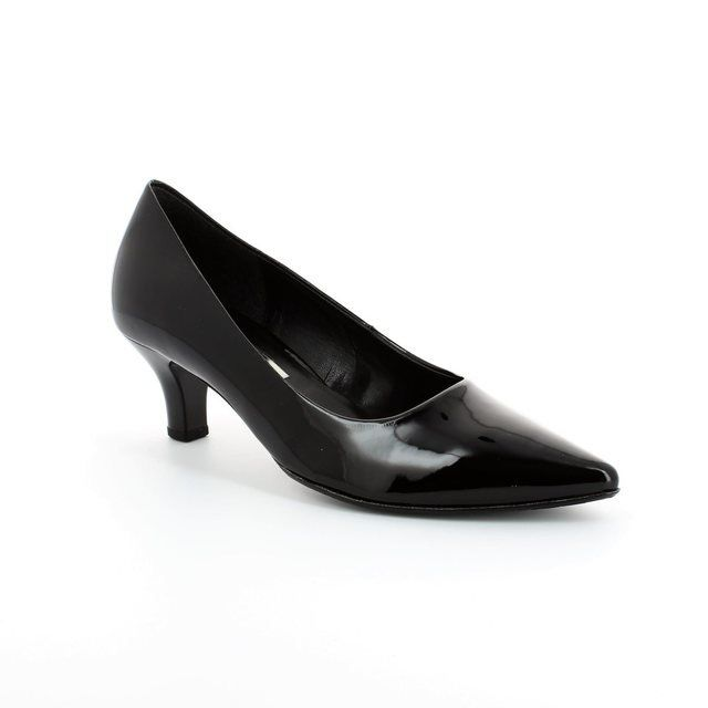 Gabor Heeled Shoes - Black patent - 41.250.77 POINTY