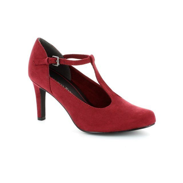 Marco Tozzi Agaro 24411-502 Red high-heeled shoes