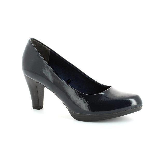 Marco Tozzi Senaga 22408-826 Navy patent high-heeled sh