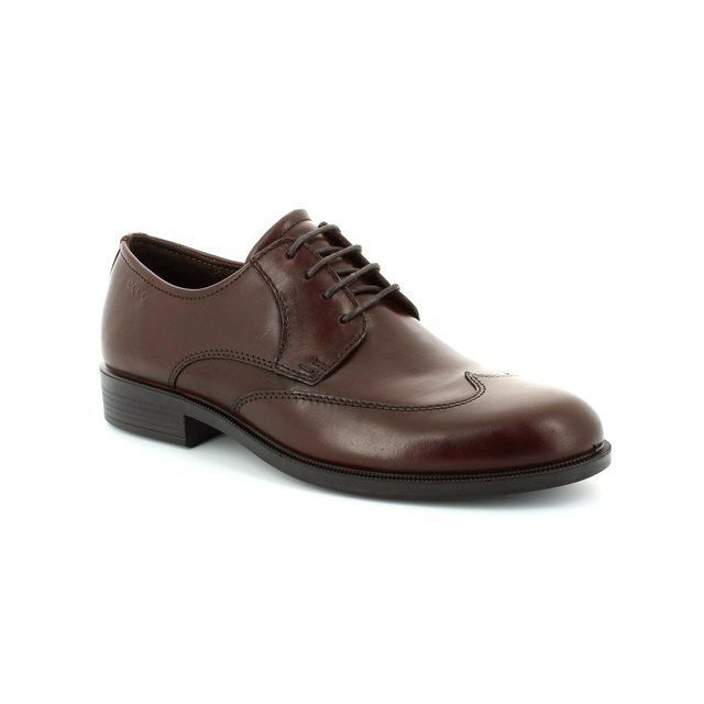ECCO Harold 634514-01060 Rust tan formal shoes