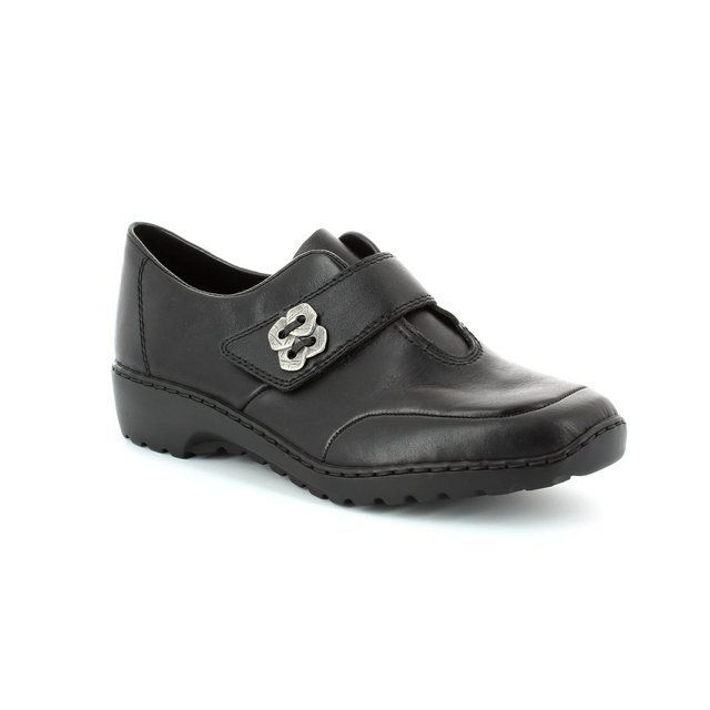 Rieker Everyday Shoes - Black - L6060-00 BORO