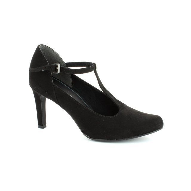 Marco Tozzi Agaro 24411-001 Black high-heeled shoes