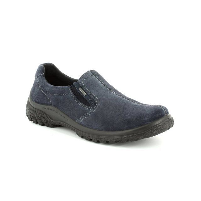 Ara Softshoe Gore 1249333-05 Navy suede comfort shoes