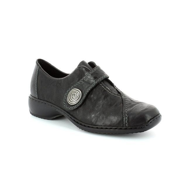 Rieker Everyday Shoes - Black - L3870-00 DORVEL